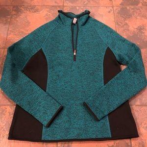 Nice sweatshirt jacket pullover size large